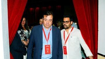 El candidato del PSOE a la Presidencia de la Junta de Extremadura, Guillermo Fernández Vara