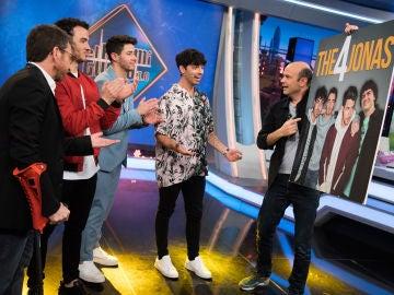 Jandro se convierte en el cuarto integrante de los Jonas Brothers en 'El Hormiguero 3.0'