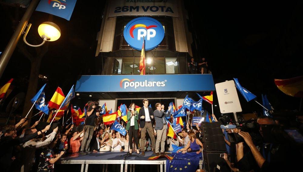 Fiesta en el PP de Madrid