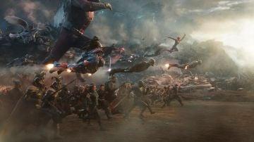 """""""Vengadores, reuníos"""": El momentazo de 'Endgame'"""