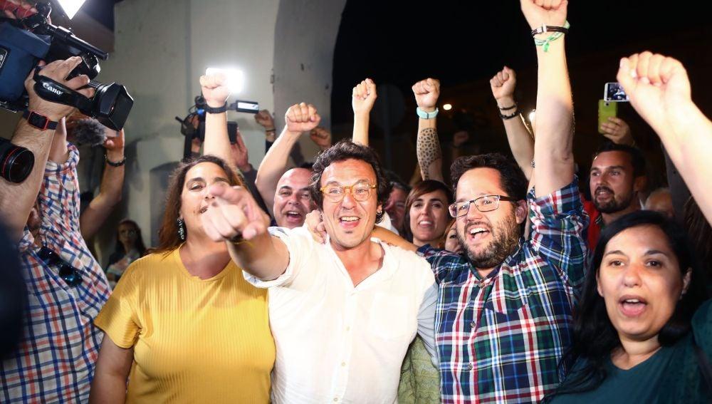 El candidato de Adelante Cádiz, José María González, 'Kichi'