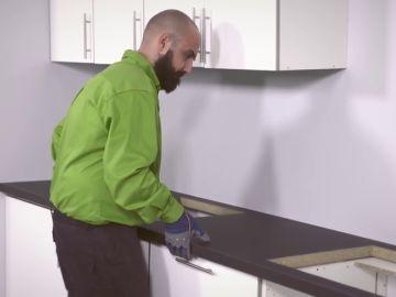 Cómo montar una cocina en línea paso a paso ¡hazlo tu mismo!
