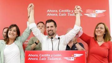 El candidato socialista a la presidencia de la Junta de Castilla y León, Luis Tudanca