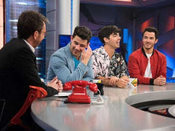 Pablo Motos recuerda la primera visita de los Jonas Brothers a 'El Hormiguero 3.0'