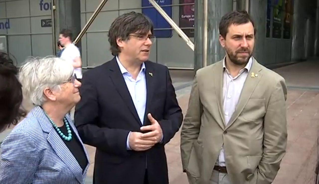 ¿Cuáles son las opciones de Junqueras, Puigdemont y Comín para ocupar su escaño en el Parlamento Europeo?