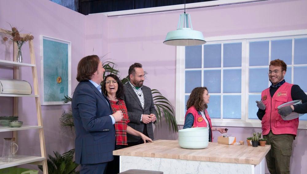 La cocina de Stacy Malibu que enamora a Silvia Abril por su vitrocerámica a prueba de canicas