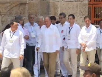 El Rey emérito asistió a varios actos en los países latinoamericanos