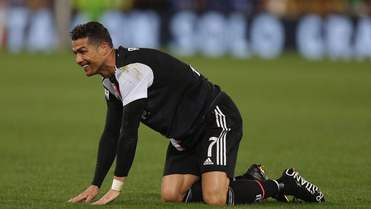 Cristiano Ronaldo Firma Su Peor Registro Goleador En Diez