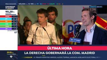 Errejón dice tener un profundo orgullo por la campaña electoral que ha hecho desde 'Más Madrid'