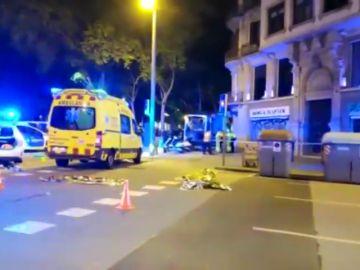 El repartidor atropellado mortalmente en Barcelona no estaba registrado como colaborador de Glovo