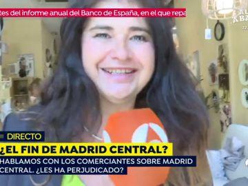 Divertido momento de Lucía Etxebarría