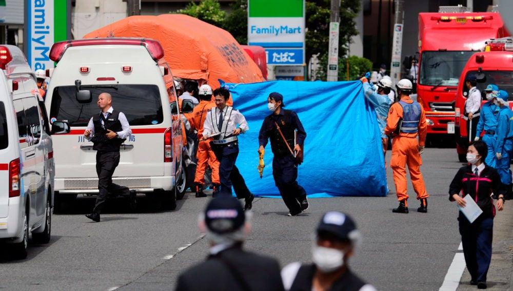 Ataque con arma blanca en Japón