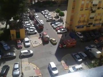Detenido por provocar un incendio para atacar a su mujer