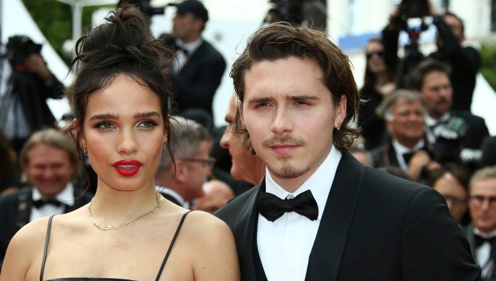 Brooklyn Beckhan y Hana Cross en el Festival de Cannes