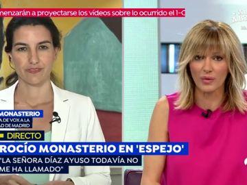 Susanna Griso y Rocío Monasterio