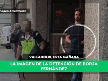 Así fue el momento de la detención de Borja Fernández, implicado en la 'operación Oikos' por presunto amaño de partidos