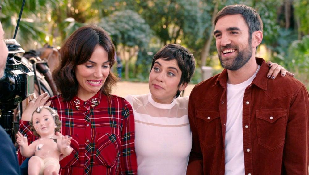 Gotzone, Carmen e Iñaki se ganan el puesto a la mejor familia