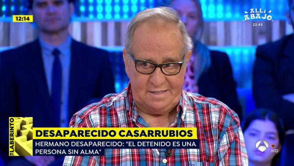 Hermano del desaparecido en Casarrubios