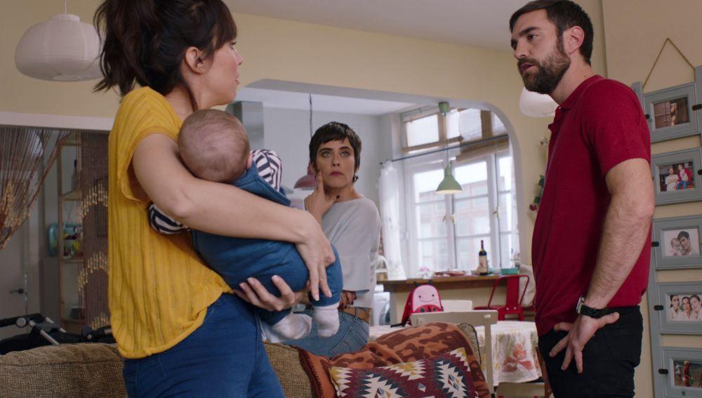 Camen, Iñaki y Gotzone enfrentados por la educación de Jon