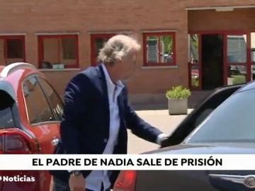 El padre de la niña Nadia, condenado por estafa, en libertad provisional