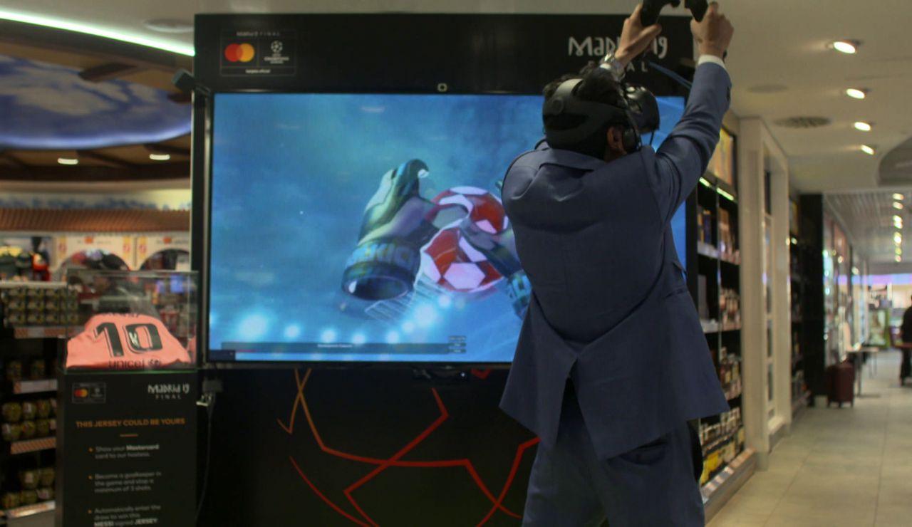 Videojuegos en una tienda dufry
