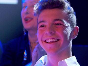 El nieto de Helena Bianco, orgulloso por su abuela en 'La Voz Senior'