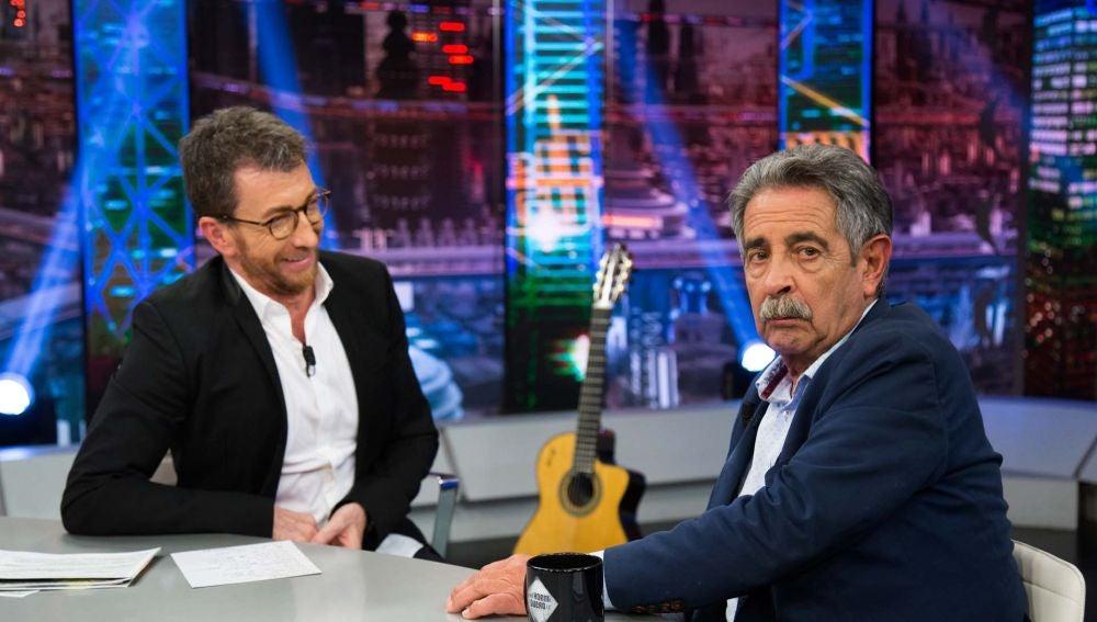 """Miguel Ángel Revilla, sobre su negociación con el PSOE: """"Si no hay tren, no hay pacto"""""""