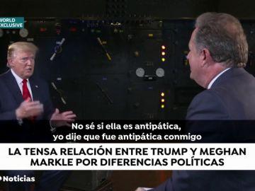 """Los duques de Sussex evitaron coincidir con Donald Trump tras calificar a Meghan Markle de """"antipática"""""""