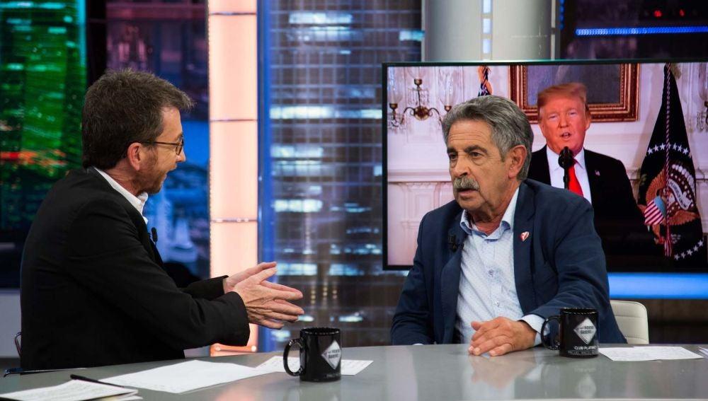 """Miguel Ángel Revilla recuerda a Mariano Rajoy en 'El Hormiguero 3.0': """"Pasado el tiempo le estoy cogiendo afecto, igual fui hasta injusto con él"""""""