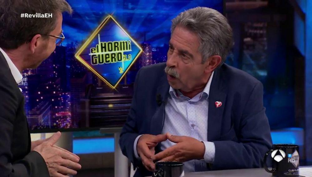 La divertida imitación de Miguel Ángel Revilla a Gloria Serra en 'El Hormiguero 3.0'