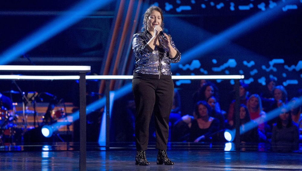 Enriqueta Caballero canta 'What a wonderful world' en los Asaltos de 'La Voz Senior'