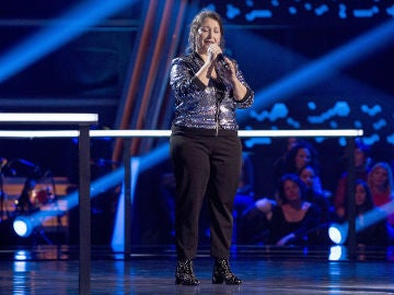 Enriqueta Caballero canta 'What a wonderful world' en los Asaltos de 'La Voz Senior'