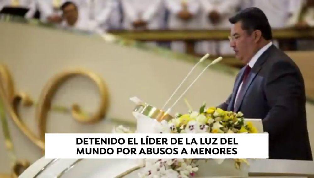 Escándalo religioso: La policía detiene al líder de la Iglesia Luz del Mundo por abusos sexuales a menores