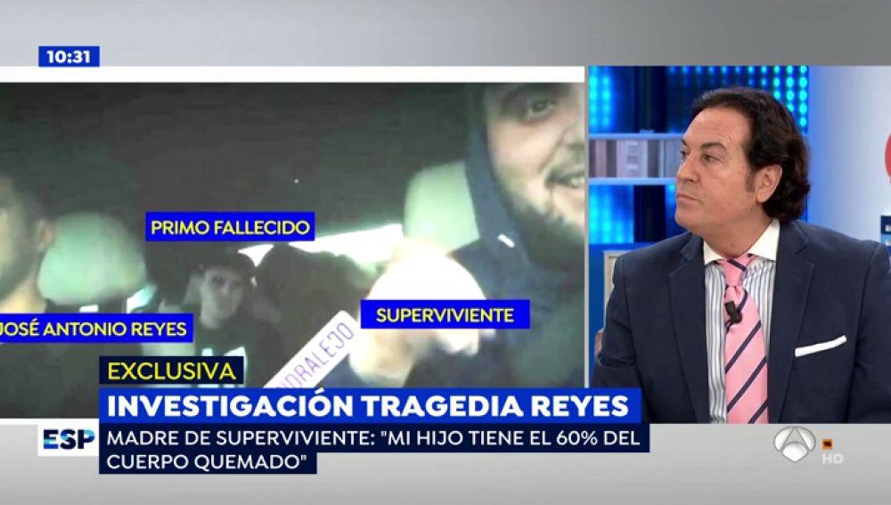 """Pipi Estrada, amigo de José Antonio Reyes: """"Su viuda es una mujer marcada por la tragedia"""""""