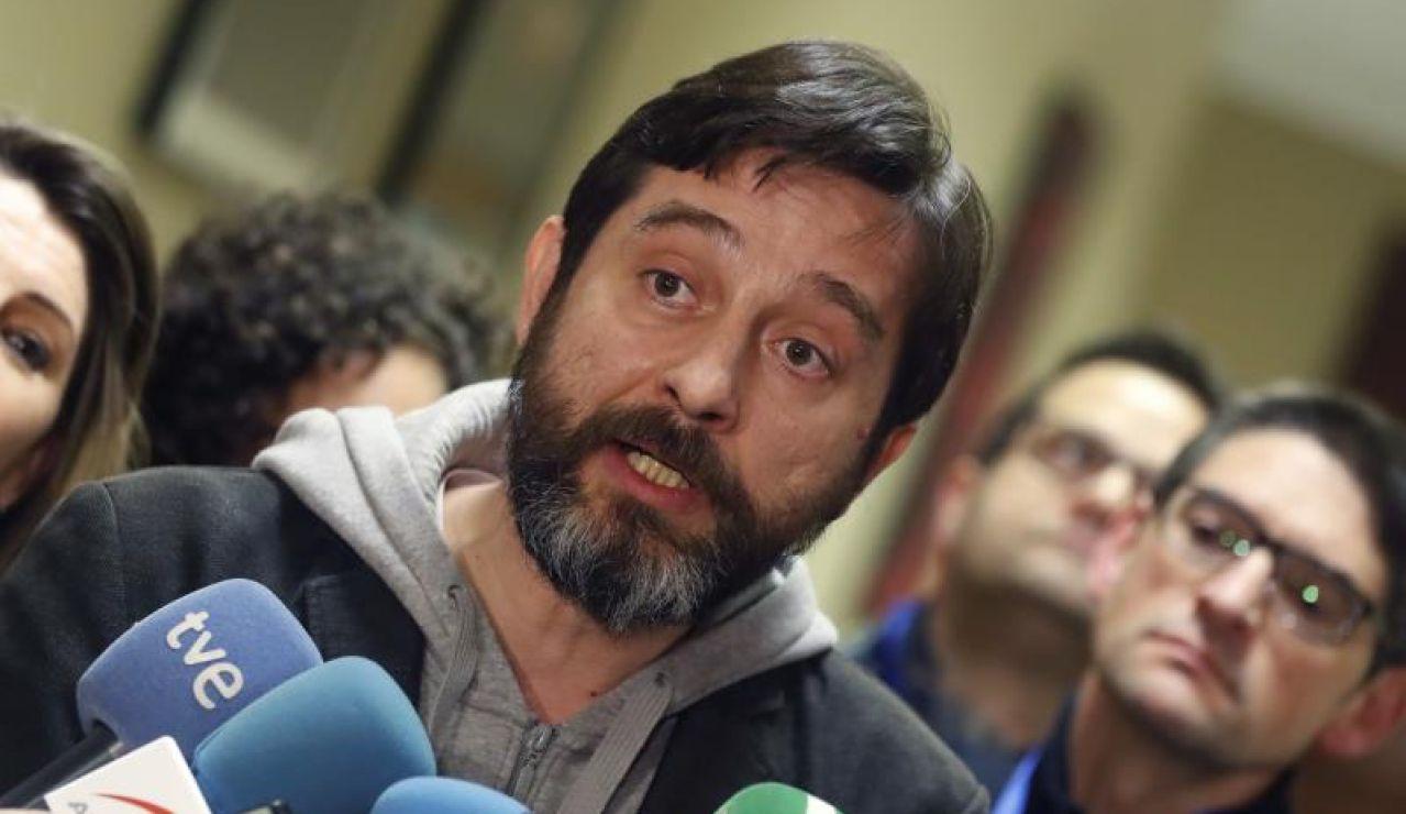 El diputado de Podemos, Rafael Mayoral