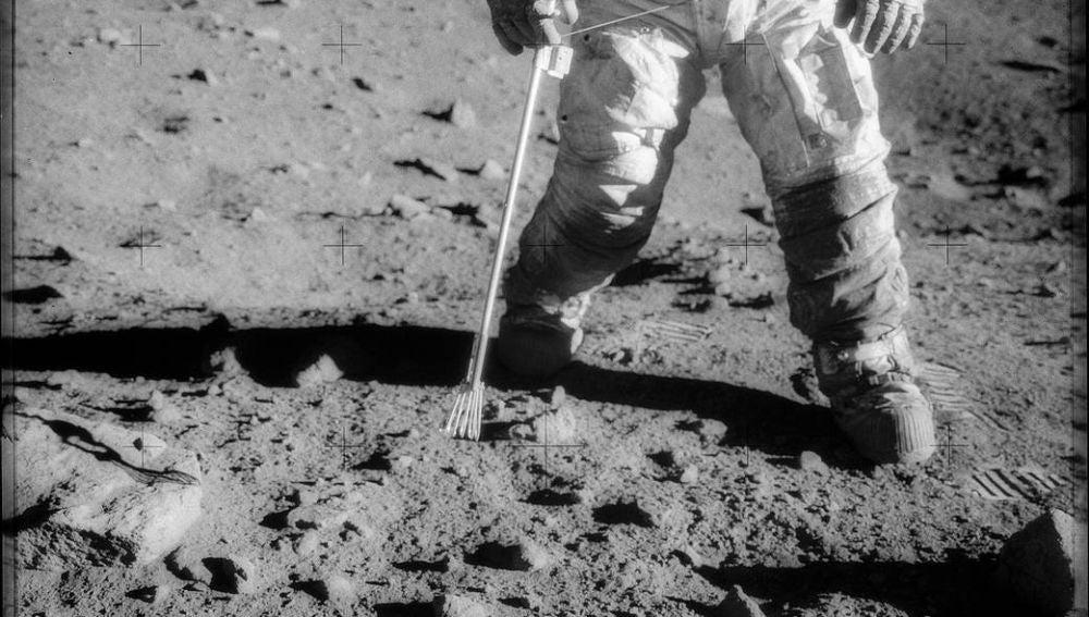 Imágenes inéditas de la llegada a la Luna