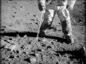 Primera vez que el hombre pisa la Luna