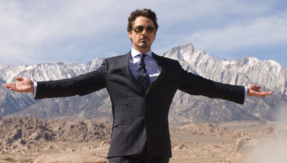 Robert Downey Jr es Iron Man