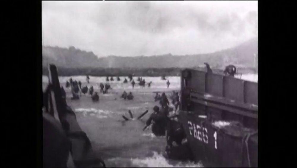 Hoy se conmemora el 75 aniversario del desembarco de Normandía, la mayor invasión militar aliada