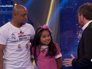 Disfruta de la entrevista completa de Roberto Carlos y Julio Baptista en 'El Hormiguero 3.0'