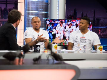 El análisis de Roberto Carlos y Julio Baptista sobre la temporada del Real Madrid en 'El Hormiguero 3.0'
