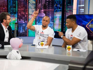 Dosis de sinceridad de Roberto Carlos y Julio Baptista con Trancas y Barrancas: ¿Quién aguantaba de fiesta hasta más tarde?