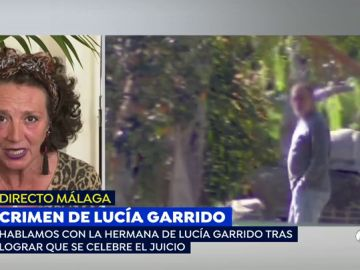 La hermana de Lucía Garrido.