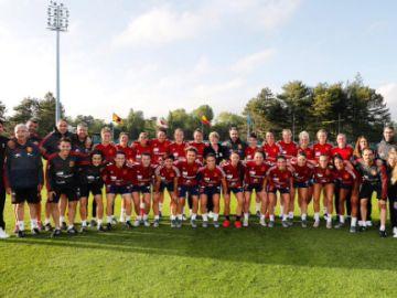 La Selección Española Femenina