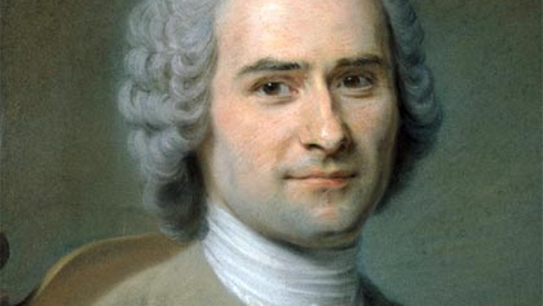 Jean-Jacques Rousseau (retrato de Maurice Quentin de La Tour, 1753)