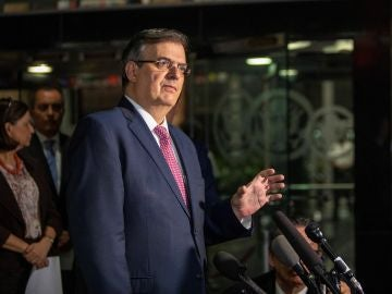 El secretario de Relaciones Exteriores, Marcelo Ebrard