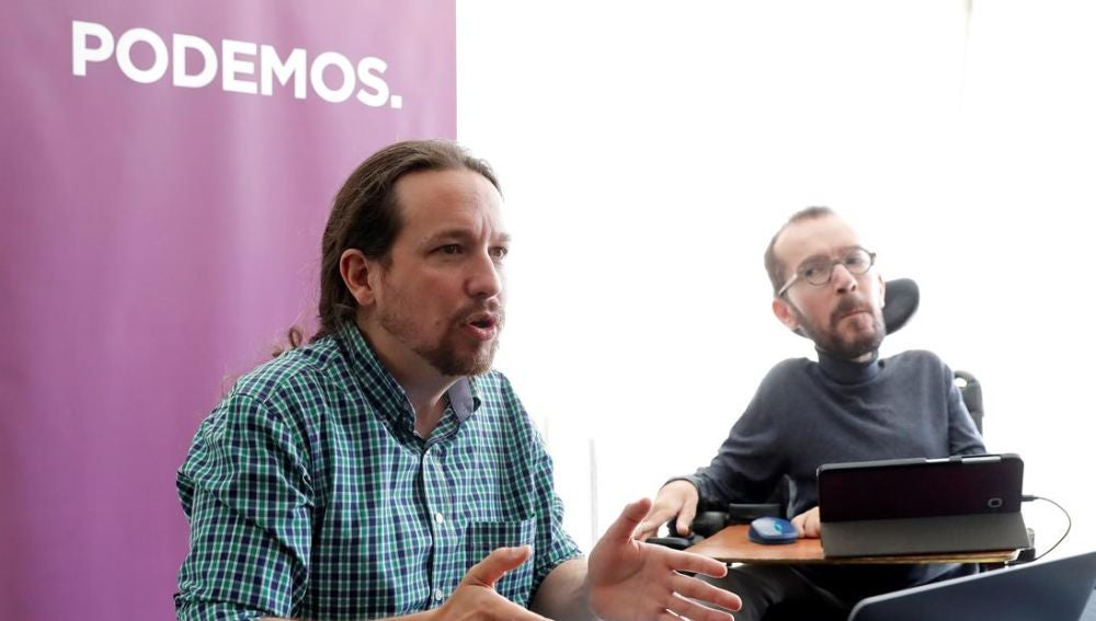 Pablo Iglesias en el Consejo Ciudadano de Podemos