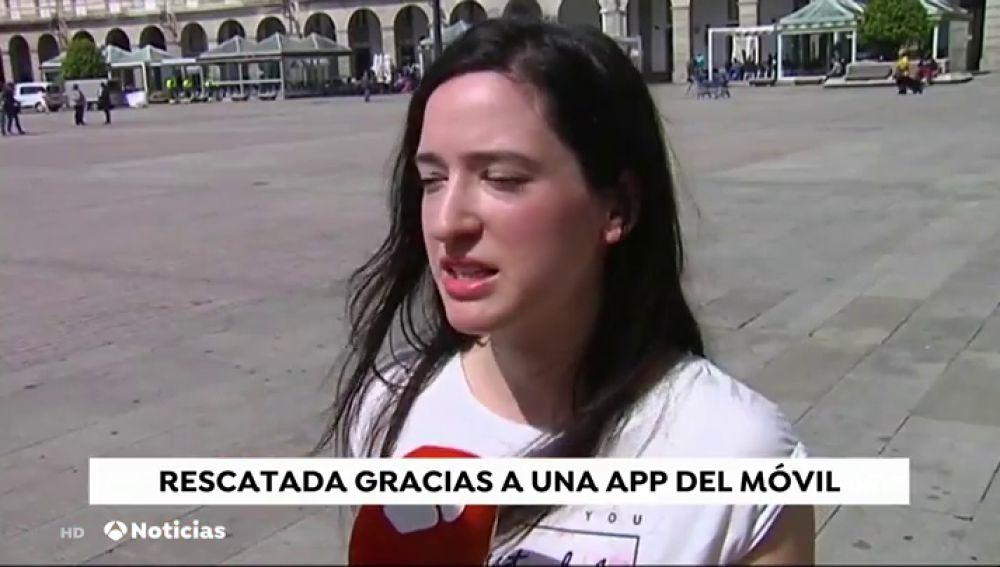 Una aplicación de su teléfono móvil salva a una joven gallega que se perdió en el monte