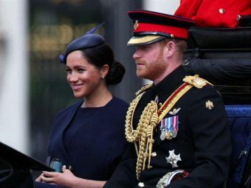 La Familia Real británica se reúne para ver el desfile 'Trooping the Colour'