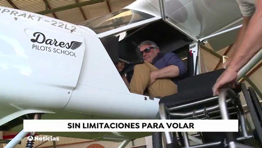 Piloto discapacitado